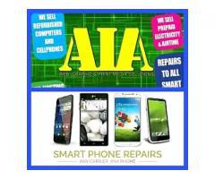 Cellphone repairs and computer repairs