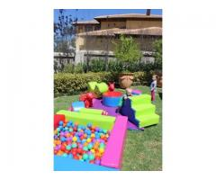 Soft Play Toys and Jumping Castle for Hire - Kids Parties