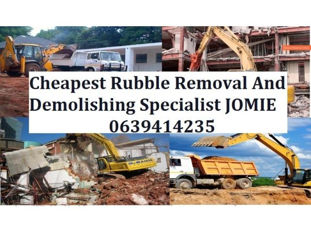 Remove all the Rubble Trouble From Your Life - 1/4