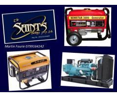 Generator Service, Repair, Maintenance Pretoria