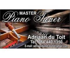 Piano tuning and organ repairs