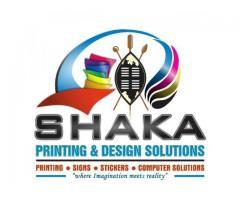 SHAKA PRINTING AND DESIGN SOLUTIONS