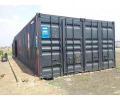 2 x Shipping Containers (3x12m)