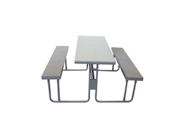 Canteen Units and Steel Folding tables - 1/2