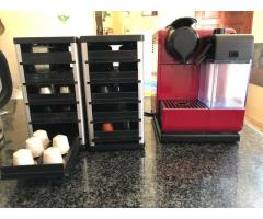 Nespresso Lattisima Touch with 2x Free Cafe stacks