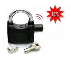 New ALARM SECURITY LOCK  (110db siren) - Alarm Activates when tampered with