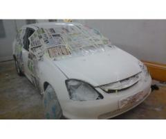 AUTOMOTIVE PANEL BEATING AND SPRAY PAINTING