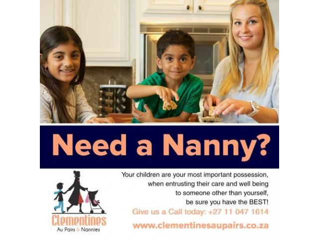 Need a nanny for your family - 1/3