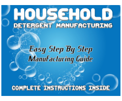 Start your own Liquid Detergent Manufacturing Business - 41 Formulas @ R329
