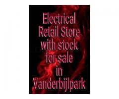 Electrical retail store for sale in Vanderbijlpark