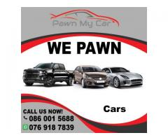 Pawn your car for quick cash