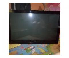 42inch Plasma tv with remote for sale