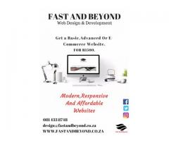 Website Design for R1500 | Fast And Beyond