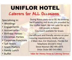Value for Money Venue and Catering
