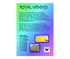 Best Quality Wendy Houses For Best Price!!!