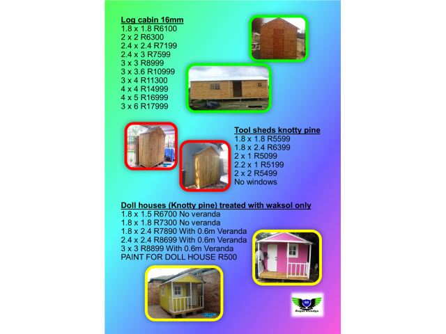 Best Quality Wendy Houses For Best Price!!! - 2/4