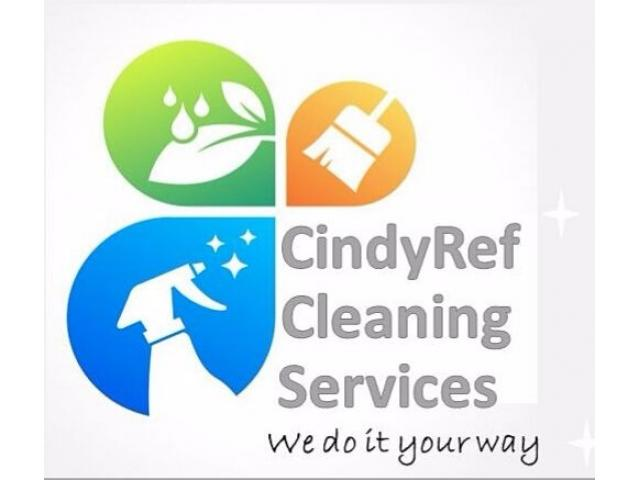 CindyRef Cleaning Services, Call today for a free Quote - 1/4