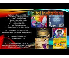 DIGITAL INVITATIONS AND MARKETING
