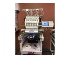 SWF Embroidery Machines (5) Single Heads 15 Needles