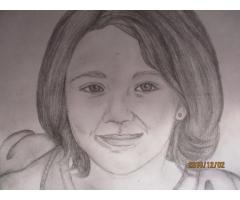 A4 Pencil Portraits