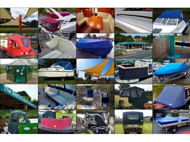 Boat Covers, Seats, Trimmers, UPHOSTERY - 1/4