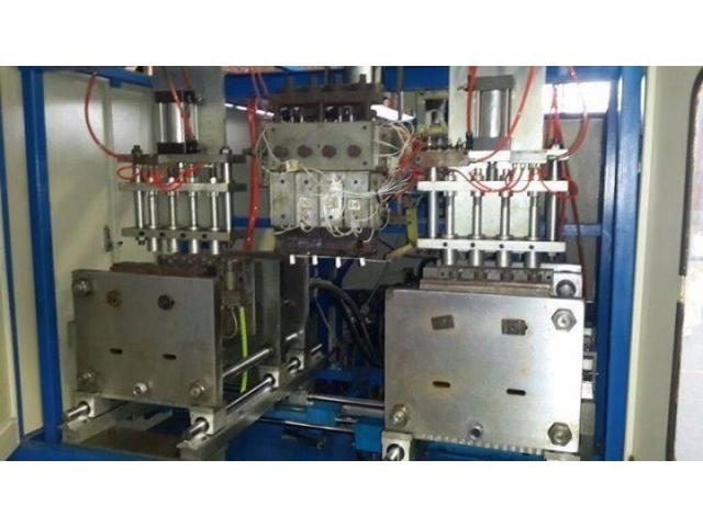 Automatic Double Station Extrusion Blow moulding machine for Sale - second hand - 2/4