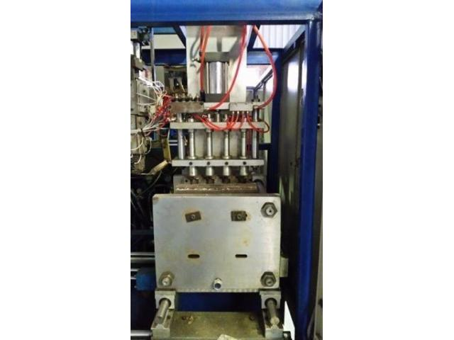 Automatic Double Station Extrusion Blow moulding machine for Sale - second hand - 3/4