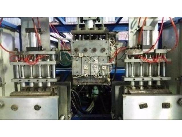 Automatic Double Station Extrusion Blow moulding machine for Sale - second hand - 4/4
