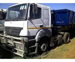 45 Side tippers trucks for hire in rustenburg