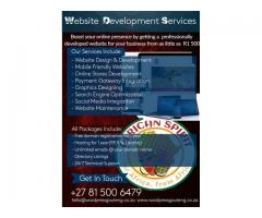 Freelance website development and maintenance
