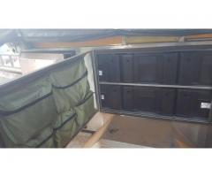 DESERT WOLF LEO 4x4 Stainless Steel Camping Trailer (2009) For Sale or Swop