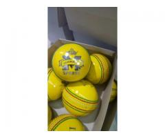 Indoor Cricket Balls for sale Yellow 115g Action Cricket Balls South Africa shipping country wide