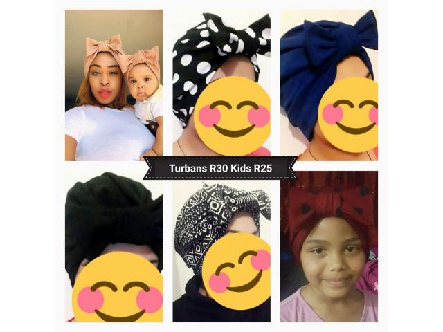 Bow Turbans for sale - 1/4