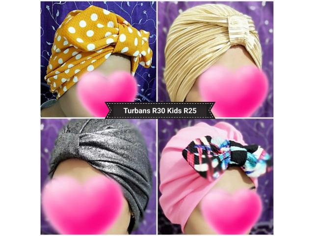 Bow Turbans for sale - 3/4