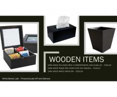 Wooden Room Items