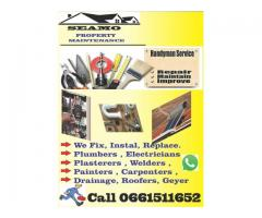 Roofing, plumbing, Pool repair, Electrical installation - Seamo property housing maintenance