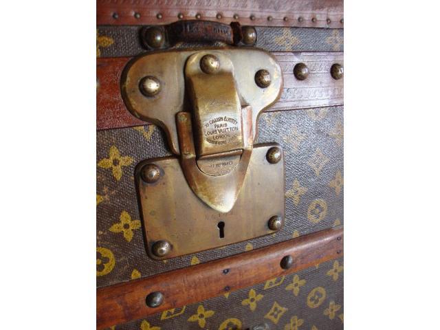 Authentic Vintage Louis Vuitton Trunk - 2/3