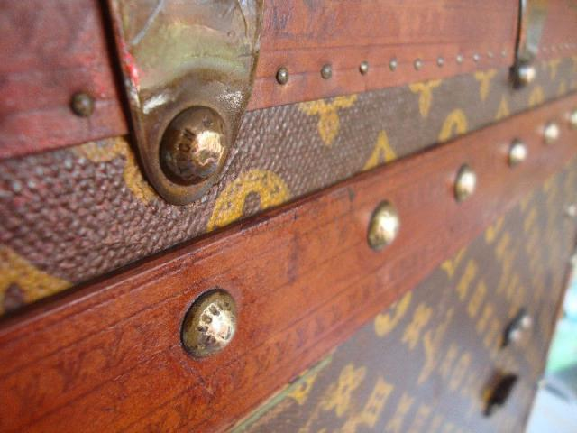 Authentic Vintage Louis Vuitton Trunk - 3/3