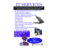 Computer Repairs, Upgrades and IT Support in Port Elizabeth