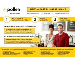 Advanced Business Loan