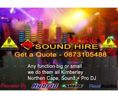 RT Sound Hire, DJ Hire, Lighting Hire