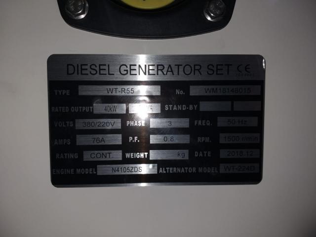 Generator  FAW 50 KVA - 4/4