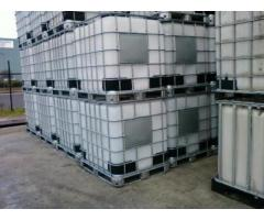 Food Grade IBC Container 1000 litres on Pallet Water Storage Tank
