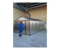 Steel huts Pretoria, Tool sheds Midrand