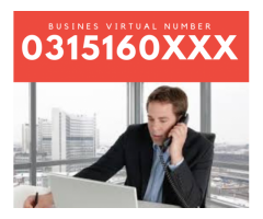 Get your business a professional business number (031-021-011 etc)