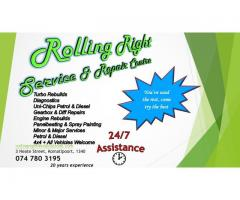 Rolling Right Service & Repair Centre