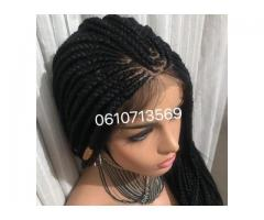 STUNNING LACE FRONTAL BRAID WIGS