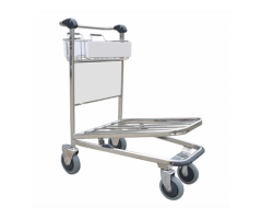 R-P524N 4 WHEELED HEAVY DUTY BAGGAGE TROLLEYS