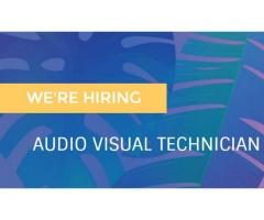 Audio Visual Technician with expertise in Projection Mapping