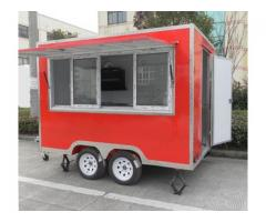 Modern Catering Fast Food Trailer / Mobile Kitchens